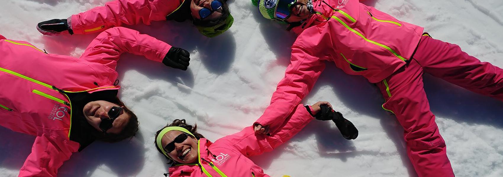 Profes de esquí y snow Ayuko