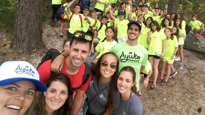 Campamentos de niños y niñas en Galicia
