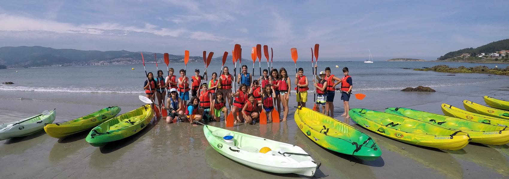 Actividad náutica en Galicia con Ayuko